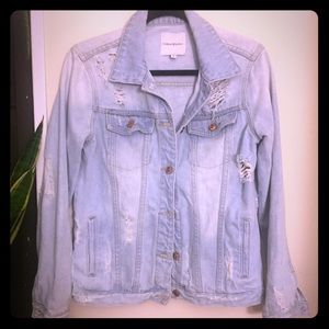 Thread and Supply Denim Jacket size M